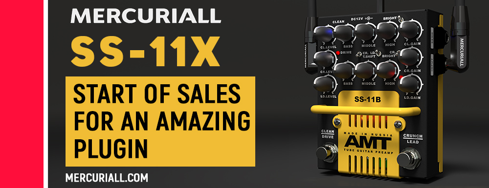 Start of sales: SS-11X by Mercuriall Audio