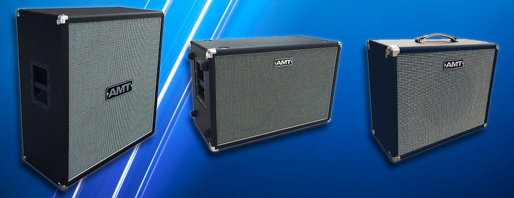 AMT guitar cabinets in stock!