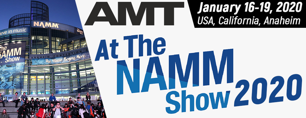 AMT Electronics at the NAMM Show 2020
