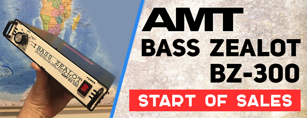 START OF SALES: AMT Bass ZEALOT BZ-30