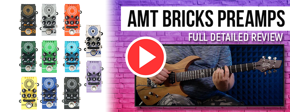 AMT Bricks preamps - full detailed review