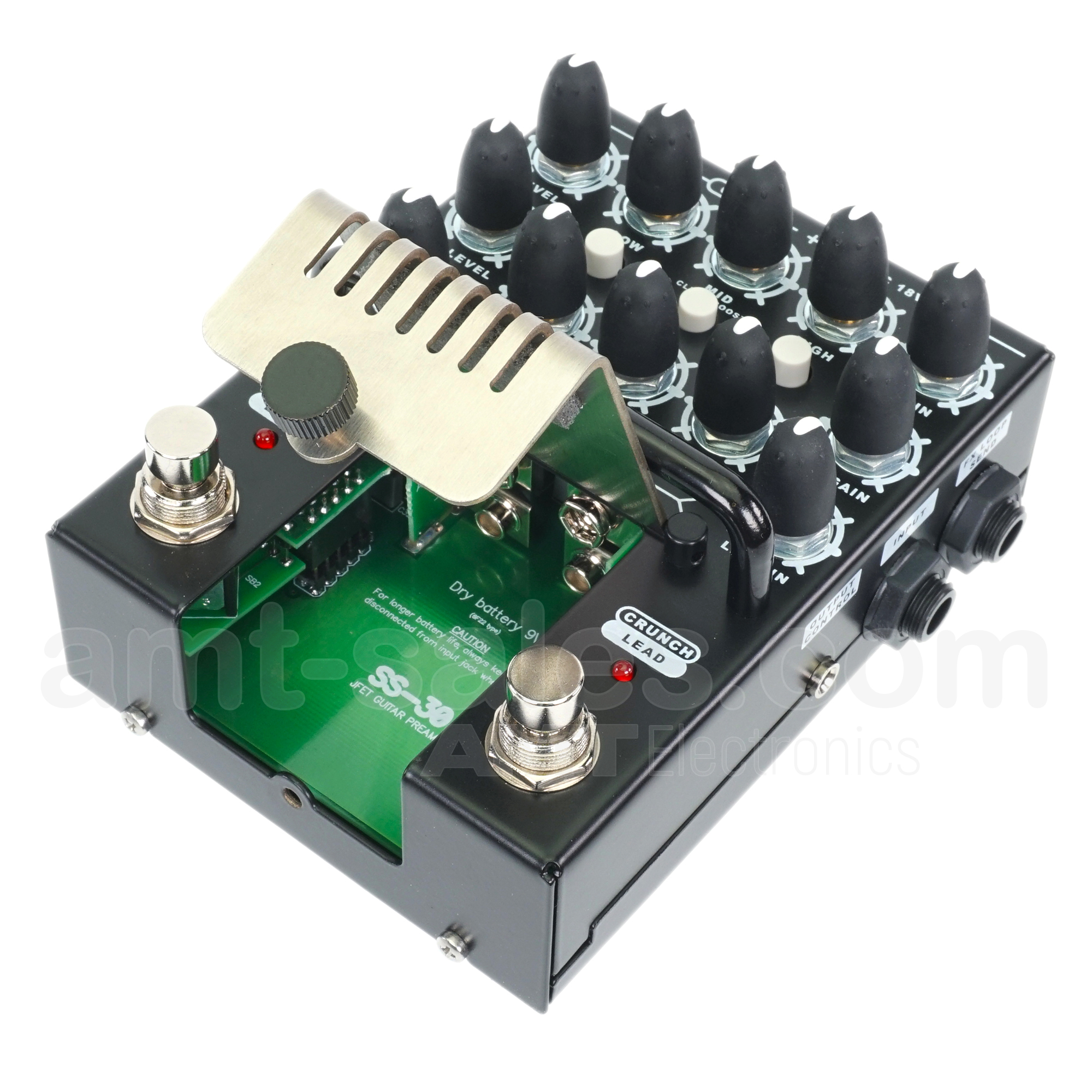 AMT BULAVA SS-30 - 3-channel JFET Guitar Preamp