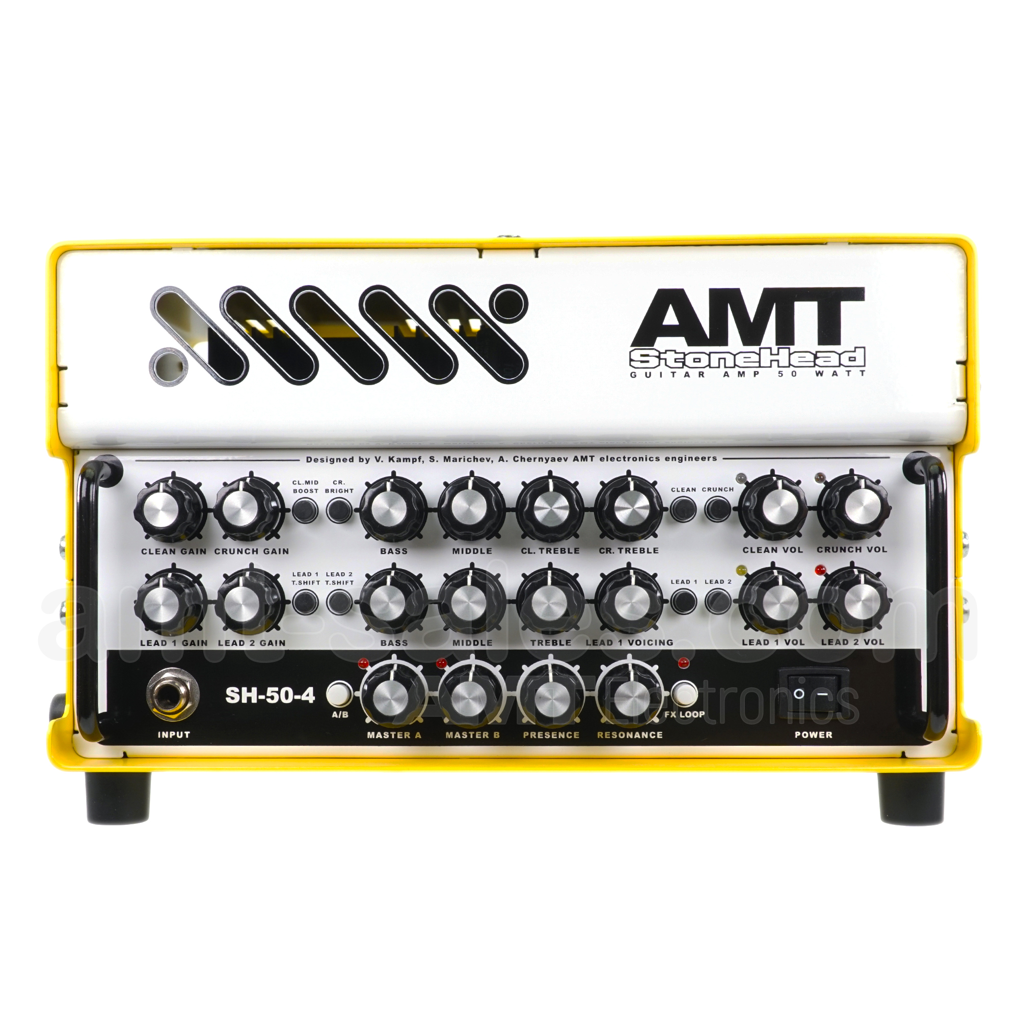 AMT Stonehead-50-4 - Guitar Head Amplifier (+ including special Bag)