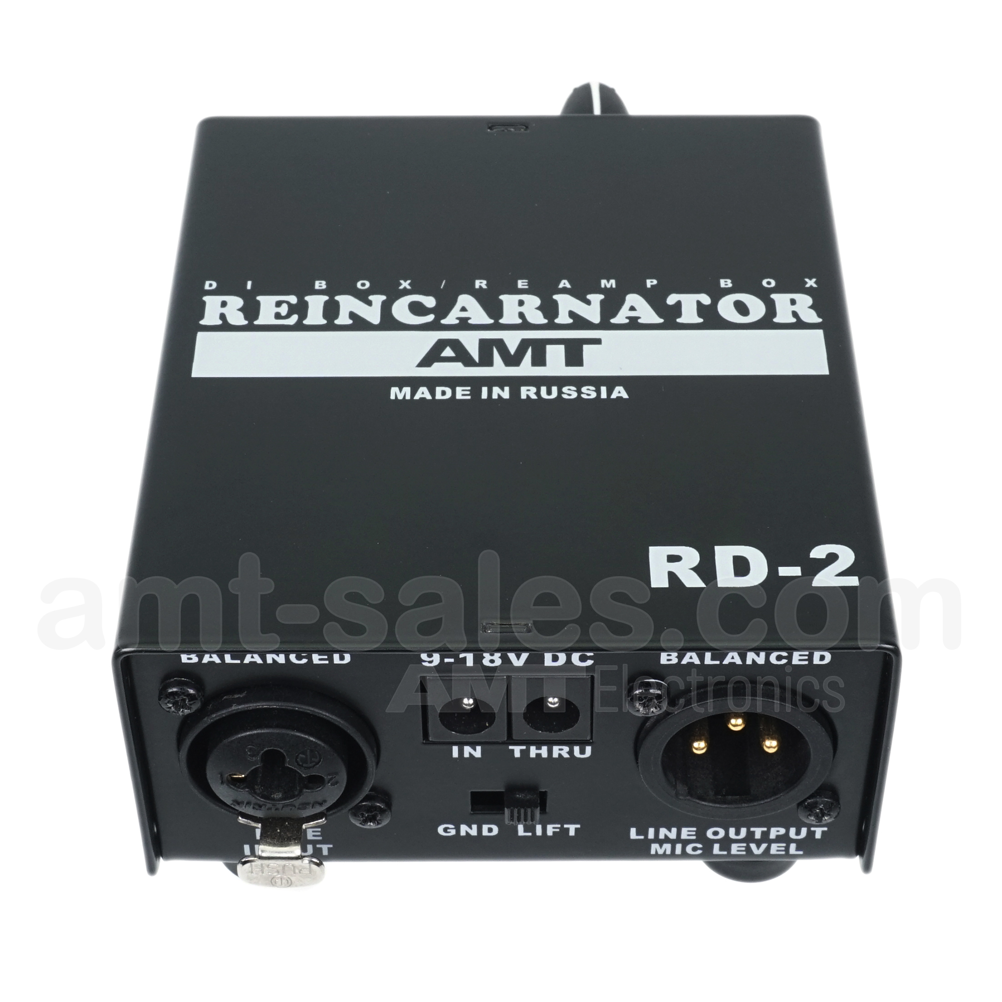 AMT Reincarnator RD-2 (DI-box + ReAmp-box)