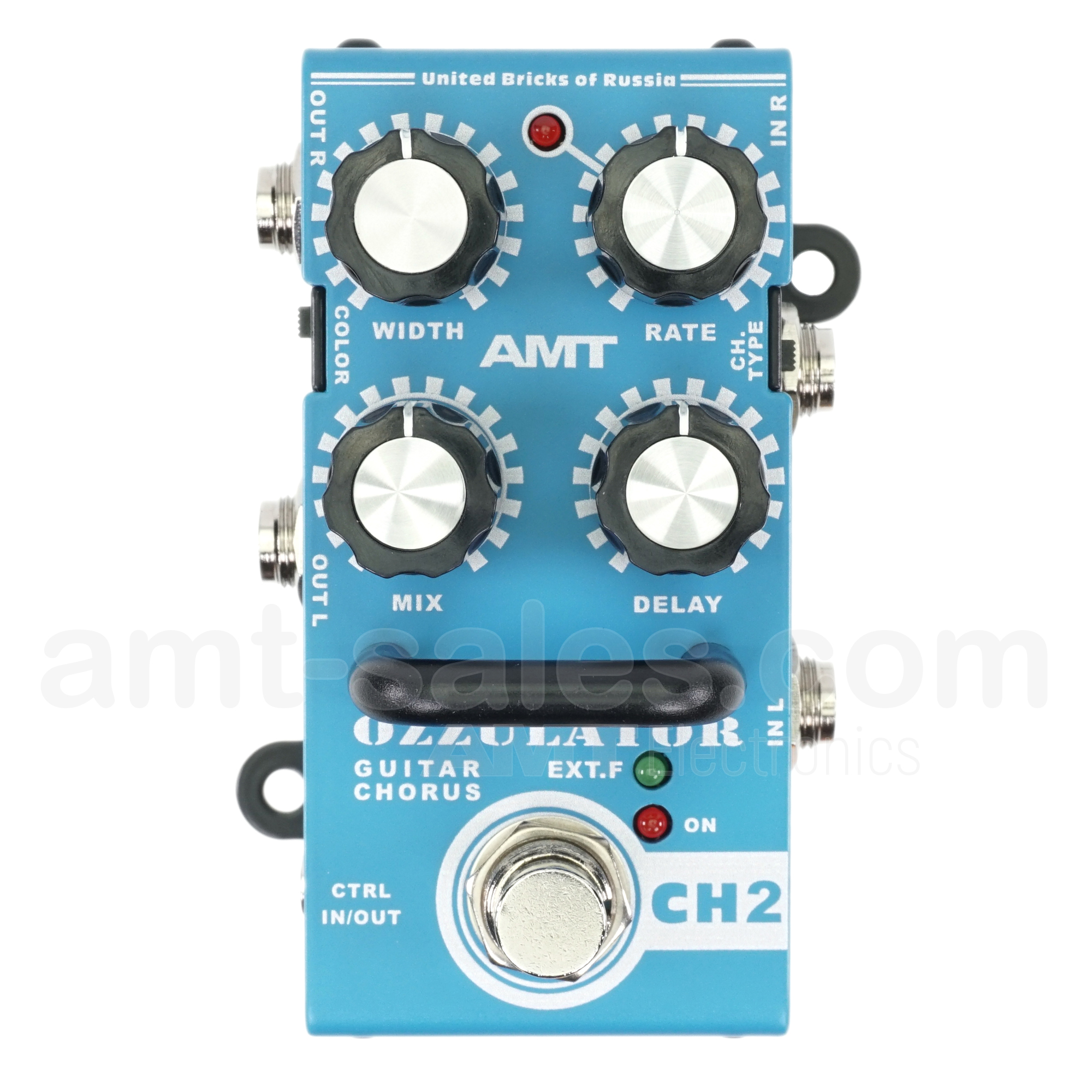 AMT Ozzulator CH-2 - bass / guitar chorus effect