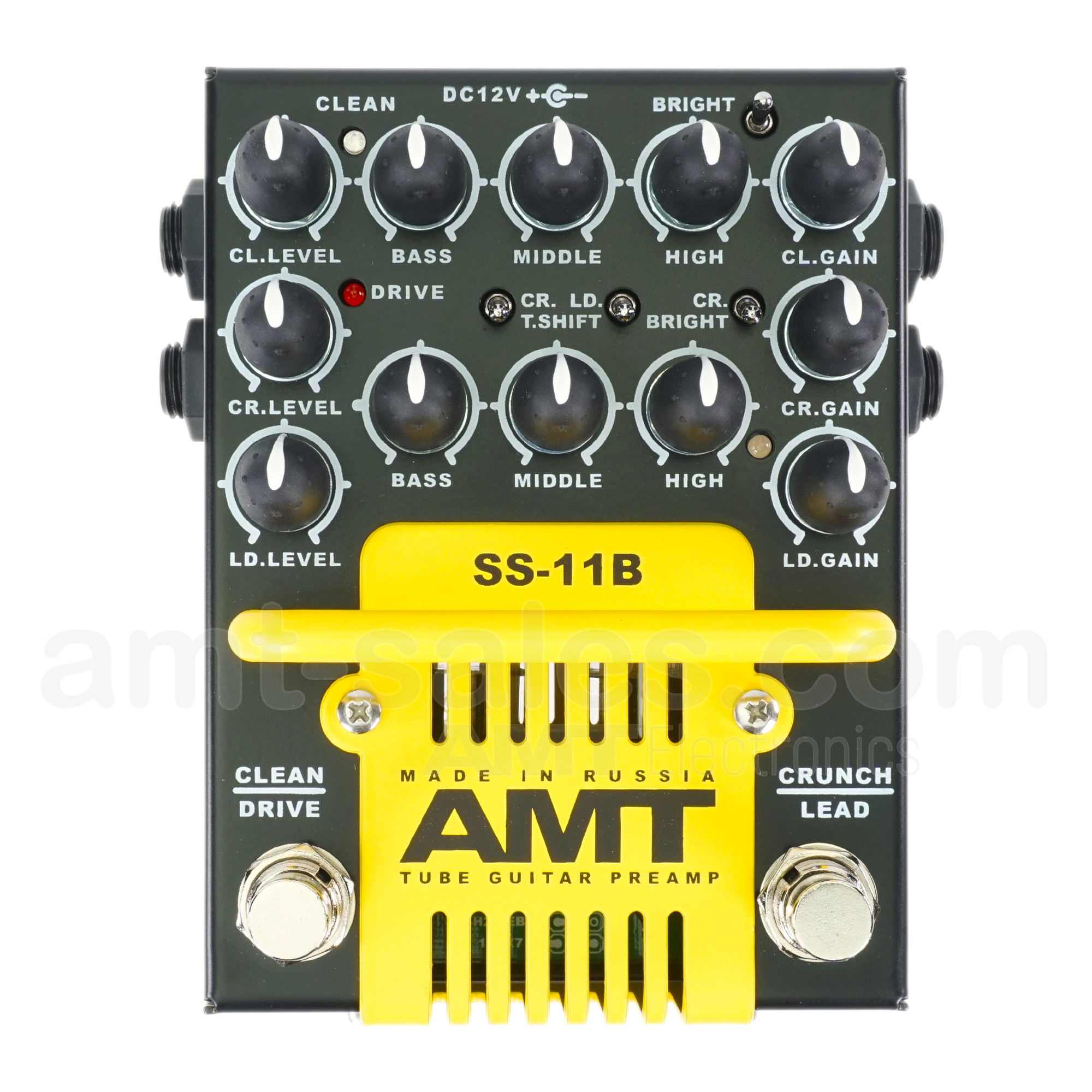 AMT SS-11B (Modern) - 3-channel Tube Guitar Preamp