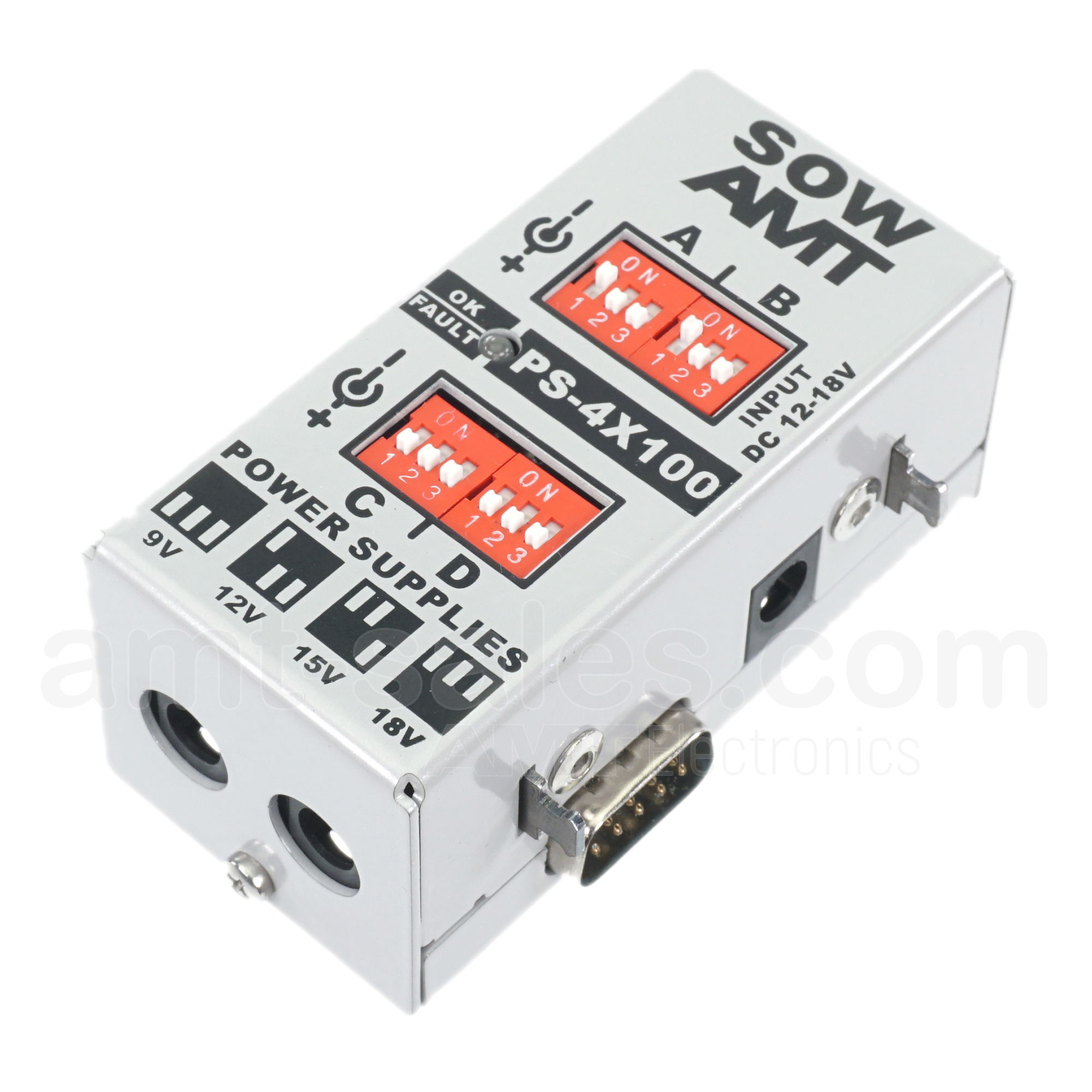 AMT SOW PS-4x100mA - power supply module