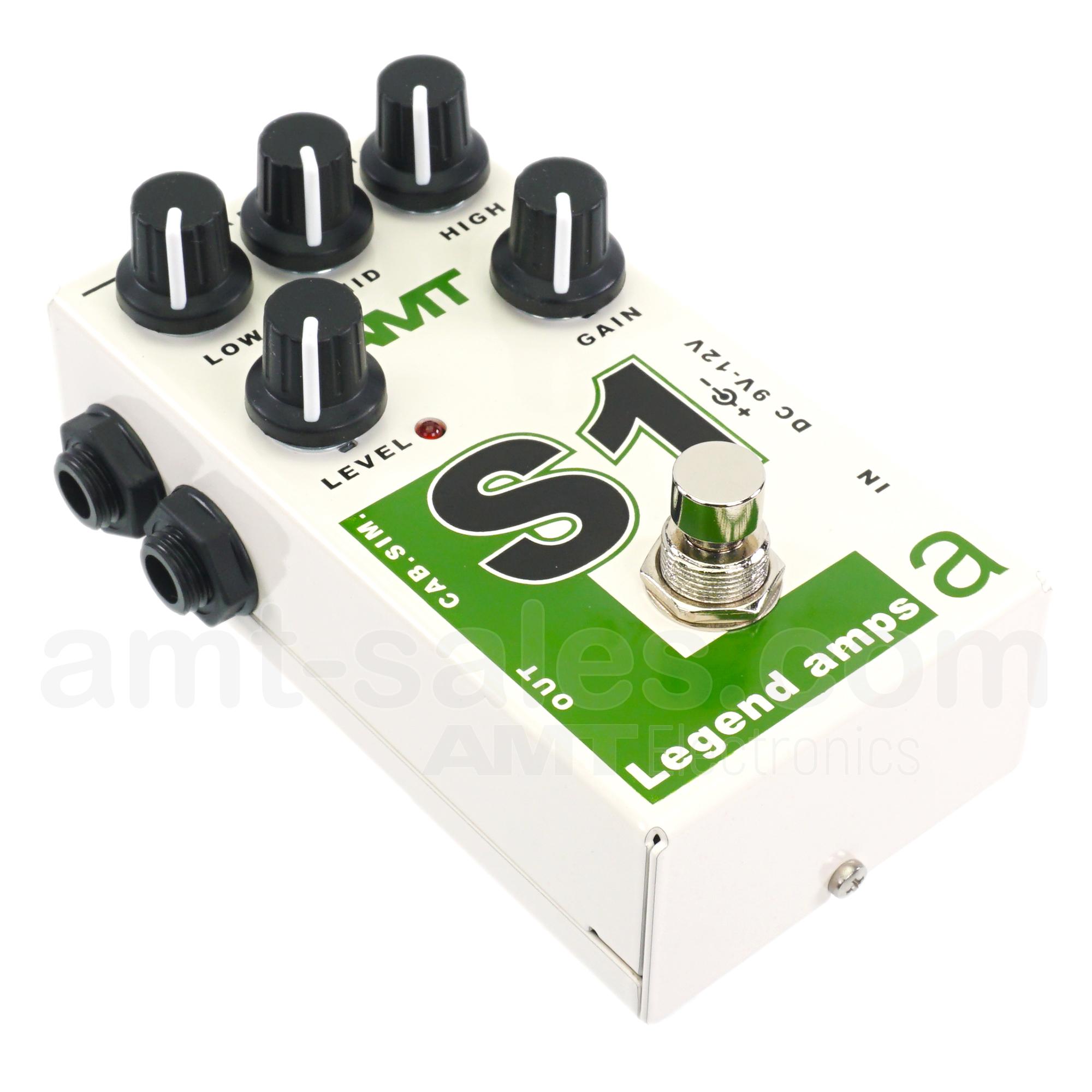 AMT S1 - JFET guitar preamp (1 channel) Soldano