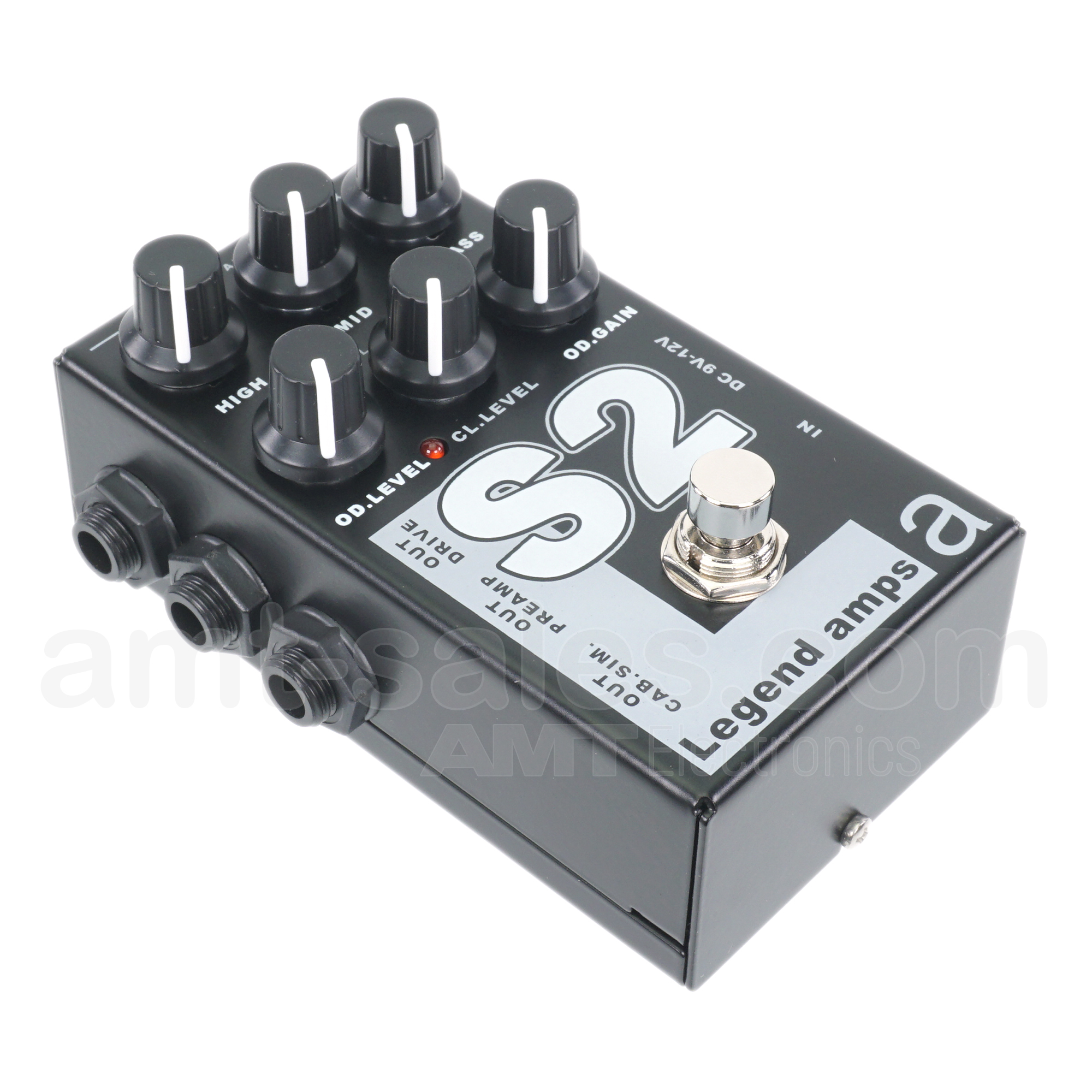 AMT S2 - 2 channels guitar preamp/distortion pedal (Soldano)