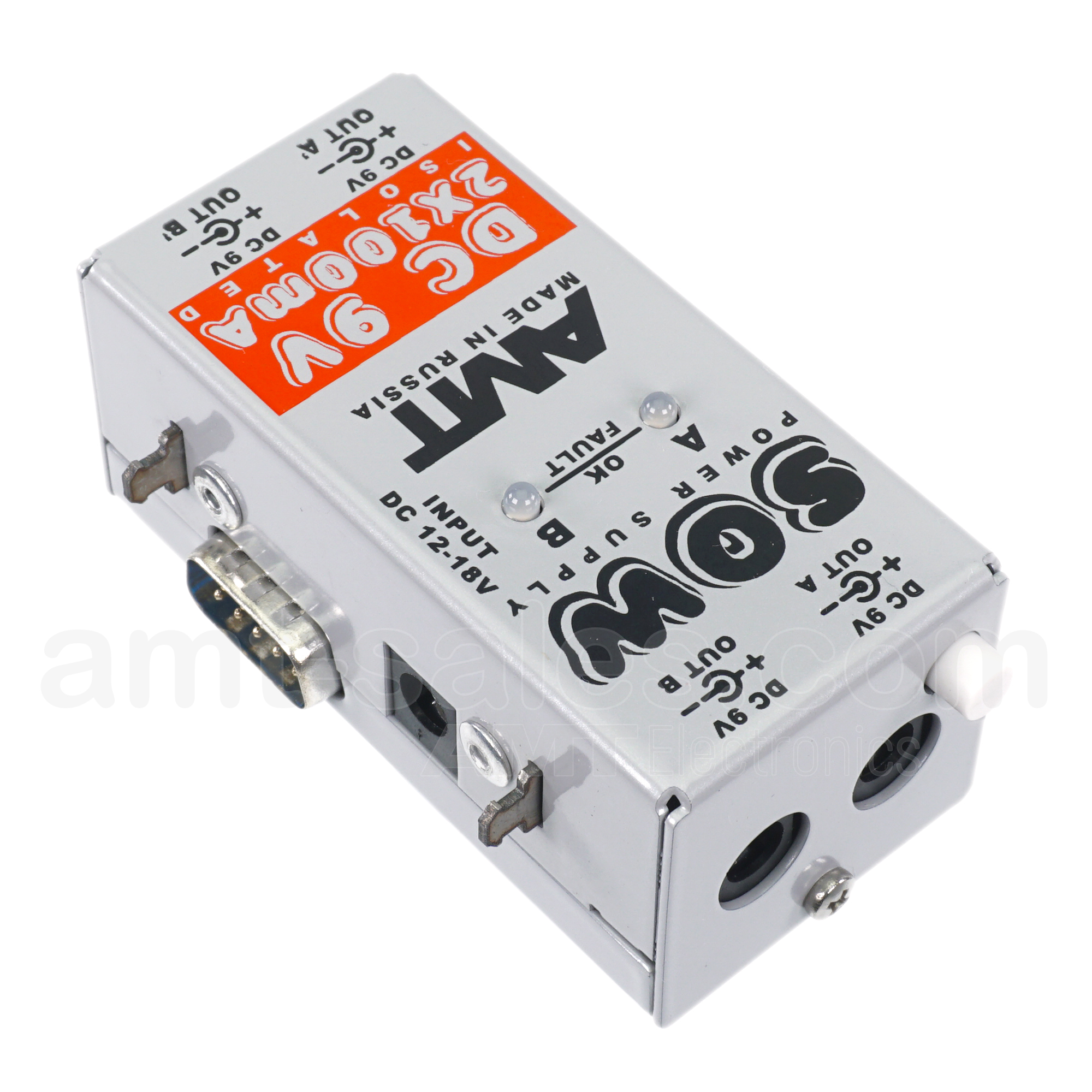 AMT SOW PS-2 DC-9V 2x100mA - power supply module