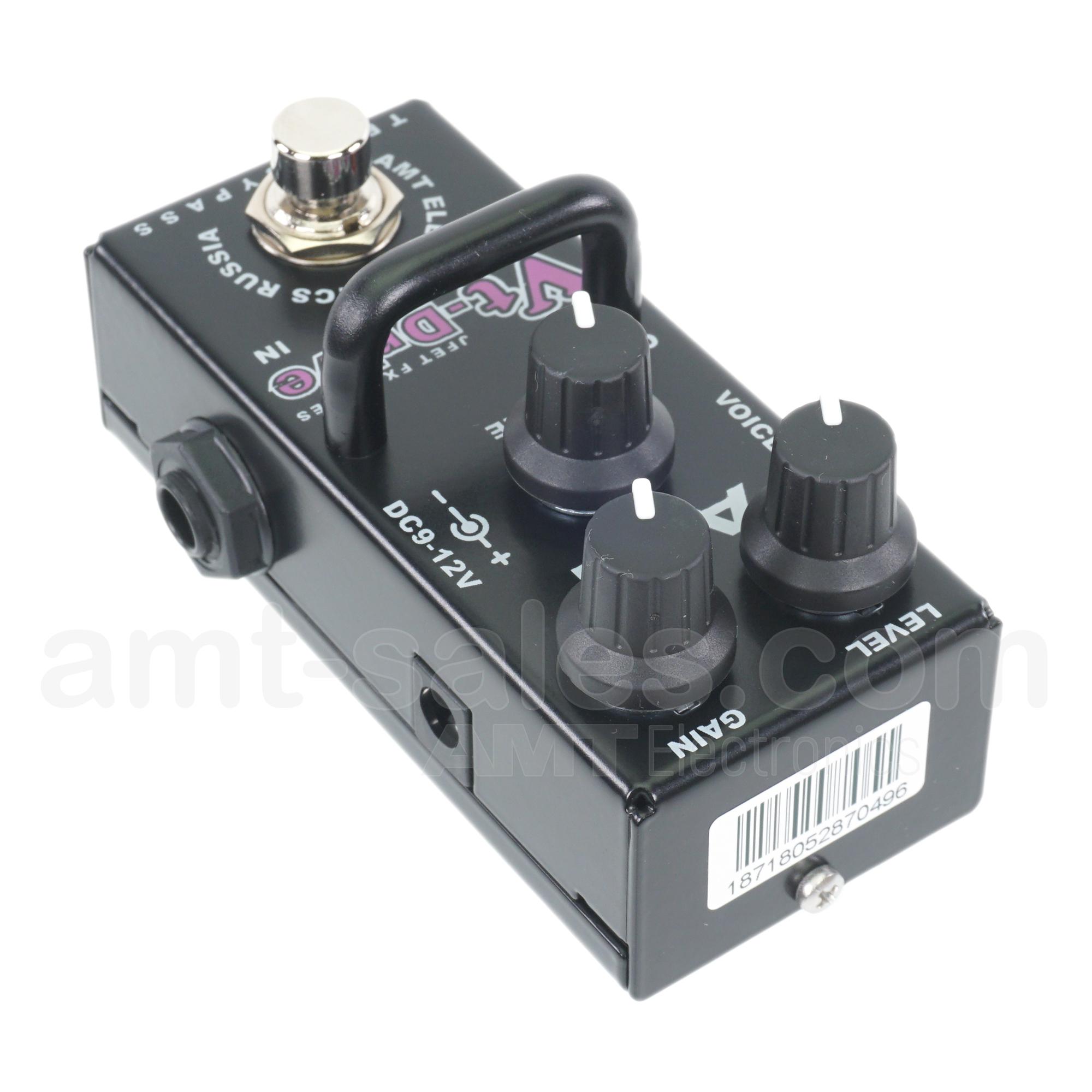 AMT Vt-Drive mini - JFET distortion pedal