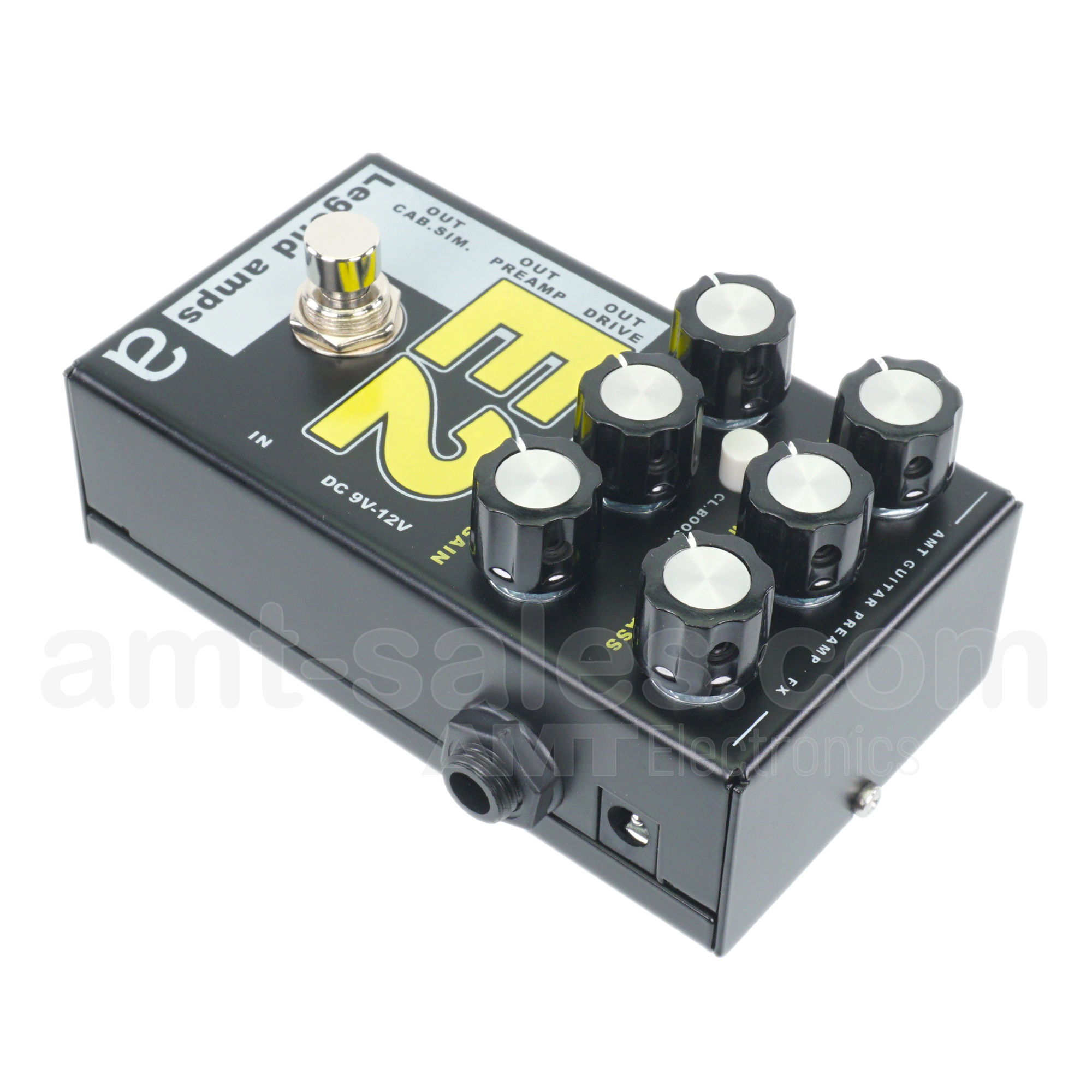 AMT E2 - 2 channels guitar preamp/distortion pedal (Engl)