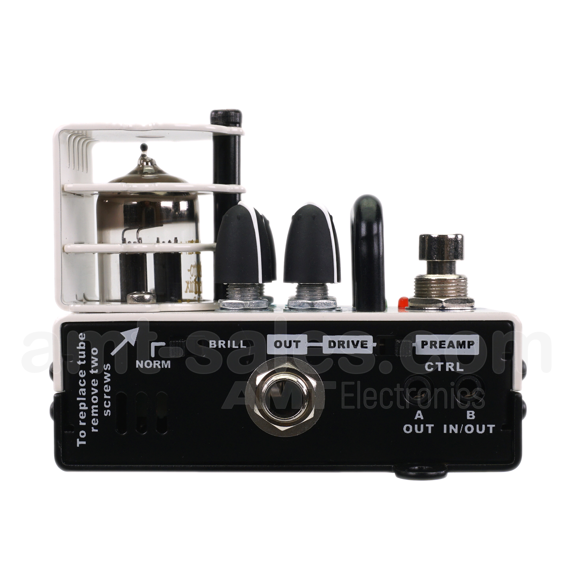 AMT Bricks Vx-CLEAN - 1 channel tube guitar preamp (VOX AC30)