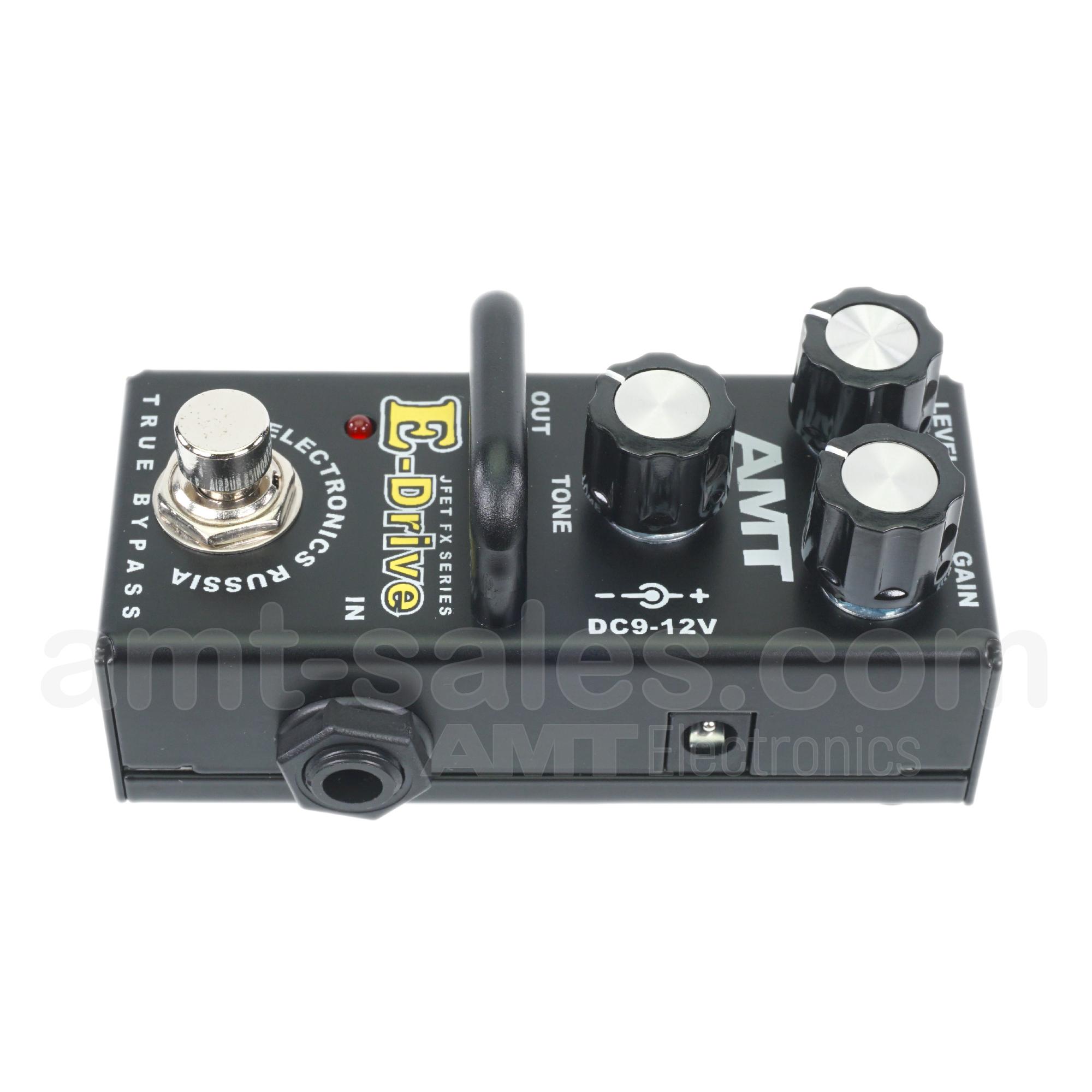 AMT E-Drive mini - JFET distortion pedal