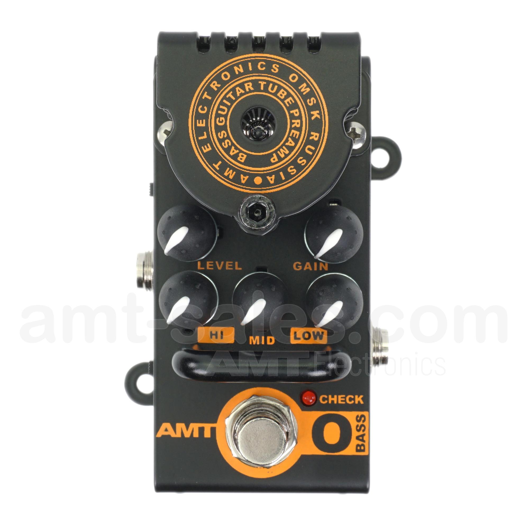 AMT Bricks O-Bass - 1 channel tube guitar preamp (Orange AD200 mark3)