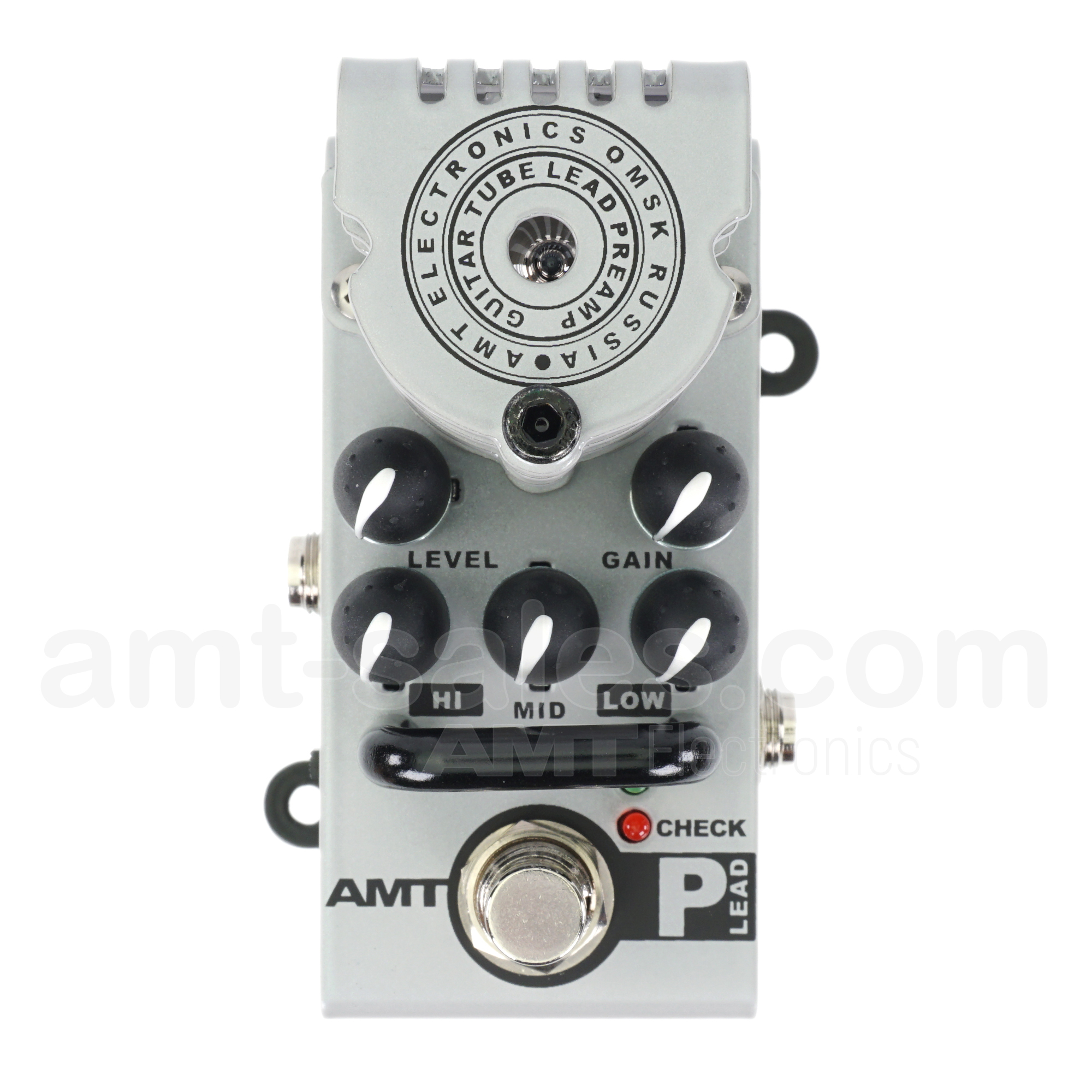 AMT Bricks P-Lead - 1 channel tube guitar preamp (Peavey 5150/6505  Emulates)