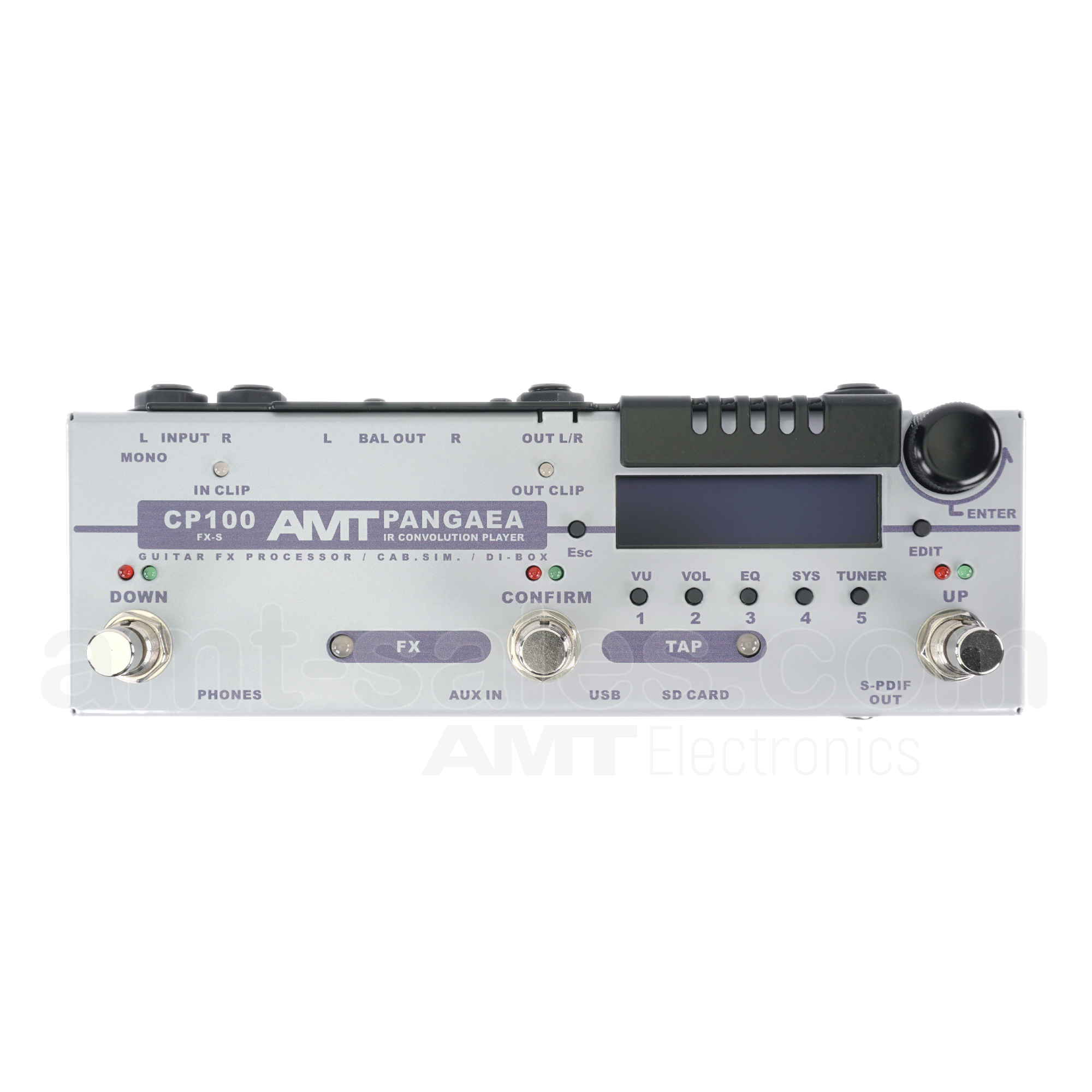 AMT PANGAEA CP-100FX-S (stereo) - IR Convolution Player & Effect processo
