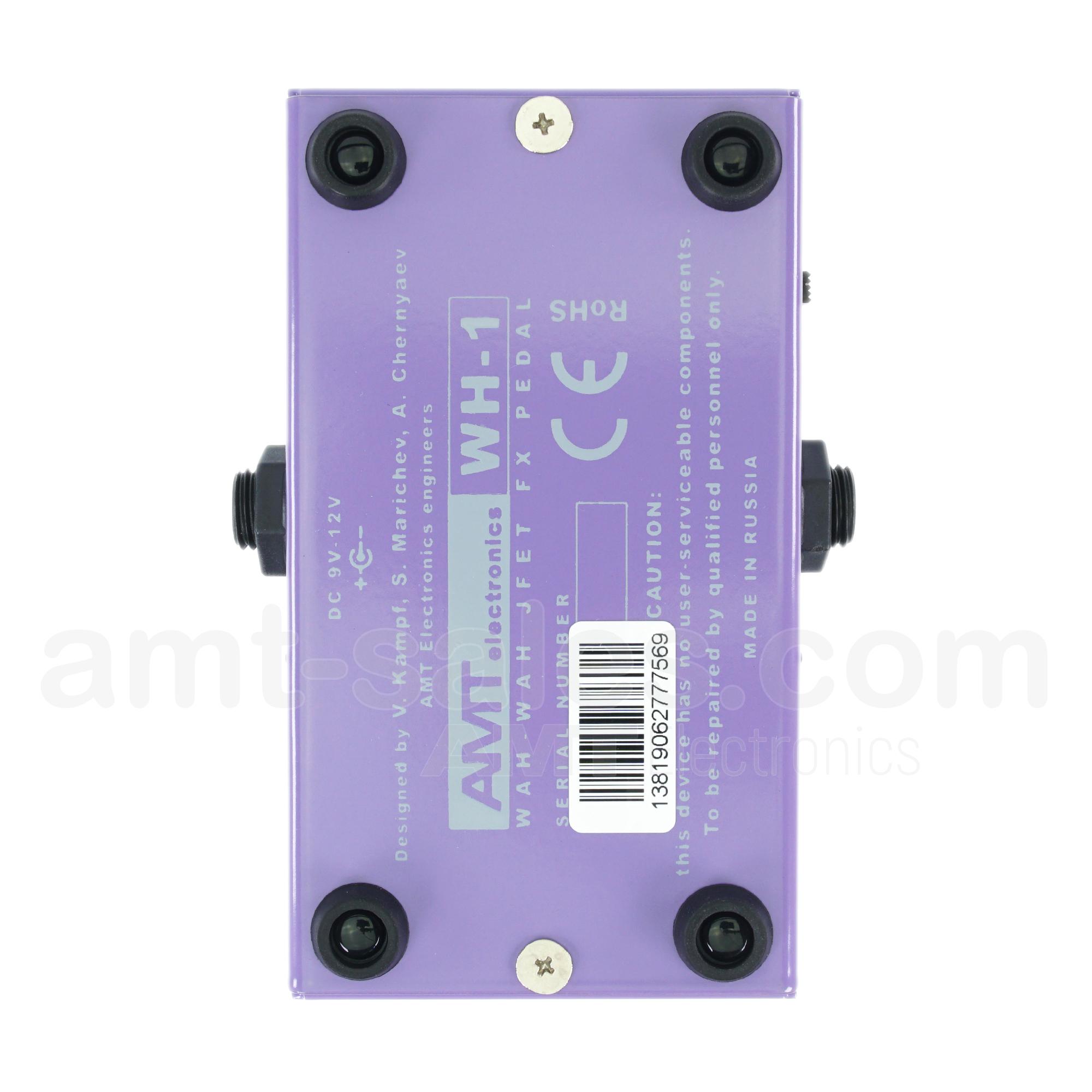 AMT WH-1 - Optical WAH-WAH pedal for guitar